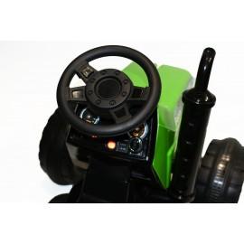Tractor electric verde