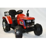 Electric tractor red