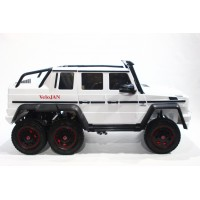 Mercedes-Benz G-Klass 4X6 White