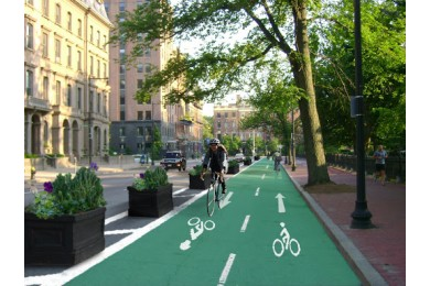 What is a bike trail?