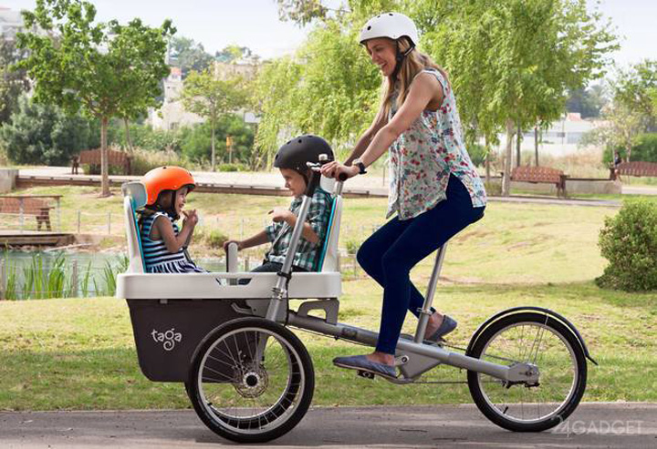 Bicycle-Trolley is a useful invention globally
